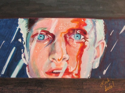 Roy Batty Blade Runner ..(Copic Marker on Marker papers)